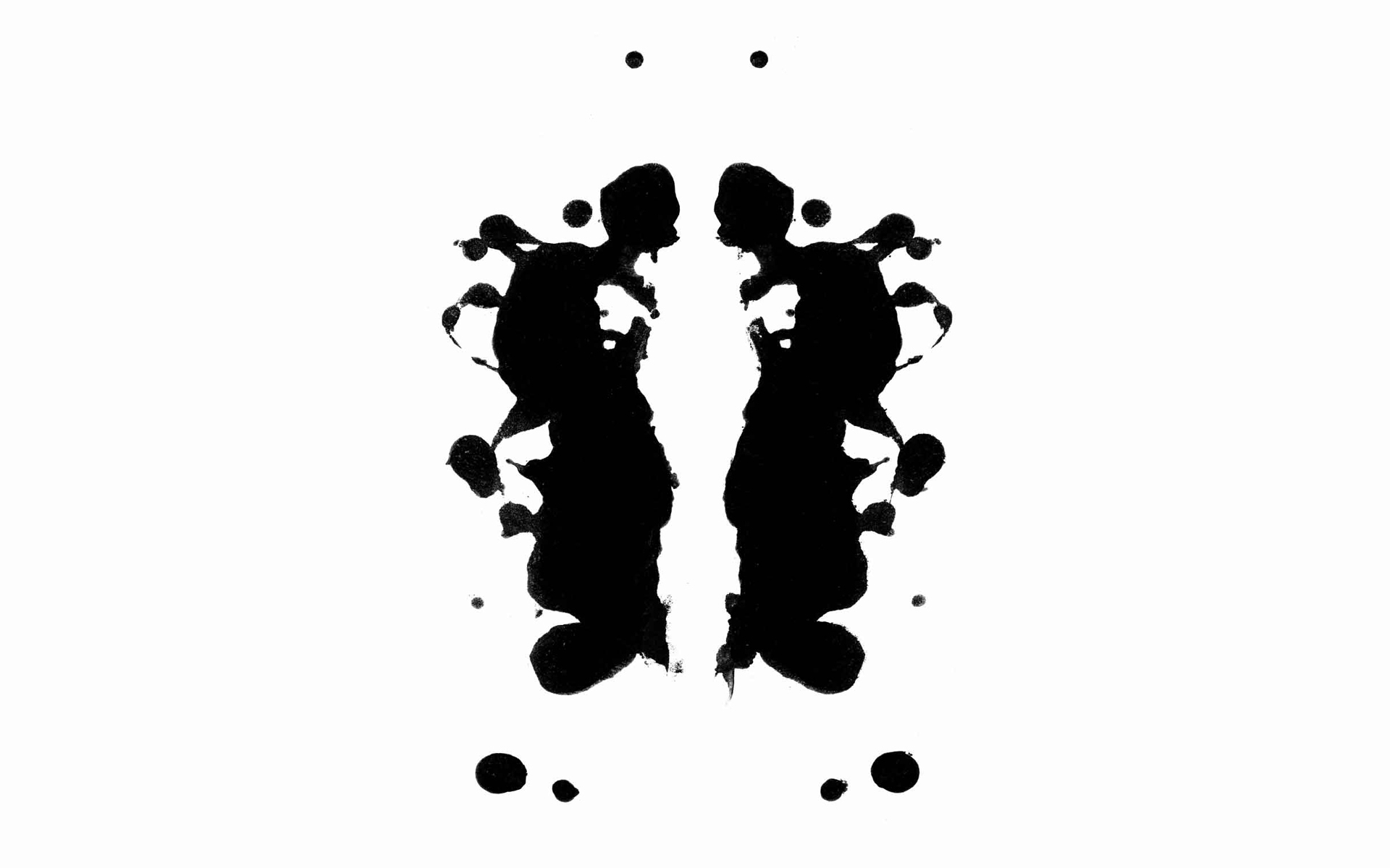 rorschach test wallpaper hd