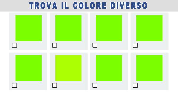 Quanti colori vedono i tuoi occhi?