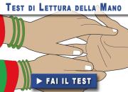 Test di lettura della mano