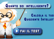 test IQ: Quanto sei intelligente?