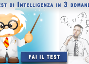 Test di intelligenza in 3 domande