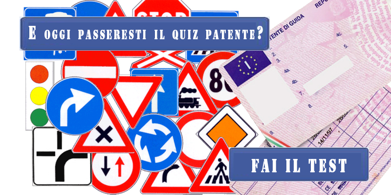 passeresti il quiz patente