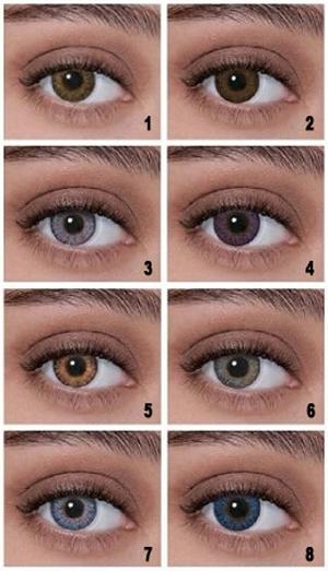 tonalità occhi